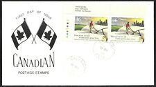 Canada   # 1810 Pair  FRONTIER COLLEGE    New 1999 Unaddressed