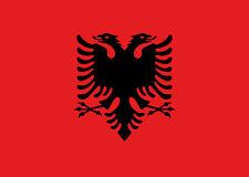 albanische Fahne Albanien Flagge 90x150 cm albanian flag Skanderbeg Doppeladler