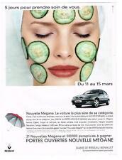PUBLICITE ADVERTISING  1999   RENAULT   LA MEGANE