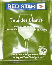 Red Star Côte des Blancs Wine Yeast, Wine Making Free Shipping!!!