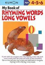 Kumon Workbooks My Book of Rhyming Words Long Vowels