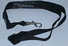 Honolulu Advertiser Black Neckstrap with Keychain or Whistle Snap NEW