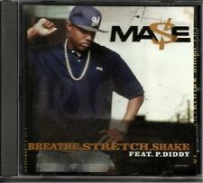 MASE & P. DIDDY Breath Stretch Shake w/ INSTRUMENTAL PROMO RADIO DJ CD Single P