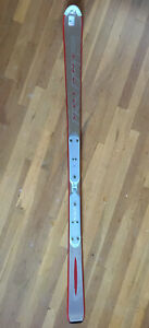 Volant V2 Genesis Single Ski 170 Cm Silver Red Made In Austria *READ: NOT A PAIR
