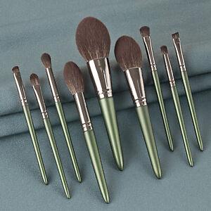 9PCS/Set Makeup Brushes Kit Powder Foundation Eyeshadow Eyeliner Lip Brush Tools