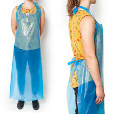 Disposable Apron Biodegradable Water Proof | BLUE 142cm x 84cm Pack of 100