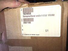 Two Embraco compressor Em2X1125U 120Volt/60hz 1024858 359006, R-290 refrigerant