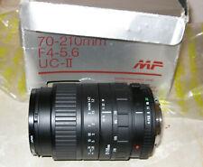 Lente Sigma Zoom 70-210 mm 1:4-5.6 de alta velocidad UC AF para Sony Alpha