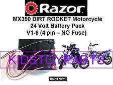 New! 24V Battery Pack for Razor MX350 DIRT ROCKET BIKE V1-8 4 PIN W/Harness!