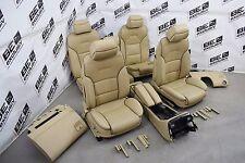 Audi A8 4E Lederausstattung Ledersitze DVD belüftet SHZ beige exclusive Sitze