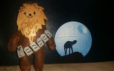 Star Wars felt figurine - Chewbacca - Handmade, homemade and unique + Free Ship