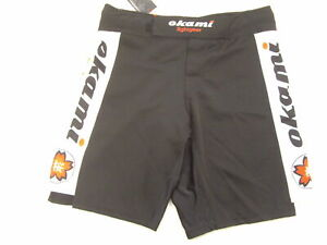 "Okami Fightgear Sakura Fight Shorts Size M waist 32"""