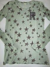 Scotch R'Belle Langarmshirt Gr. 14 / 164 Grün Sterne