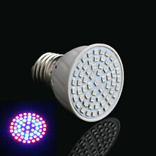 New 60LED Grow E27 12W Bulb Light Full Spectrum Tent Plants Lamp Hydroponic
