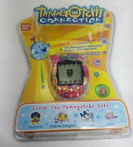 NEW Tamagotchi Connection V4 bandai 19614 pink green key chain