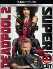Marvel Deadpool 2 Super Duper Cut 4k Ultra HD Blu-ray Digital 4 Disc Set