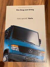 Mercedes Benz Prospekt Ganz speziell VARIO die neuen Großtransporter 08/ 1996