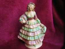 1920's - 1930's porcelain decco lady figurine in period dress