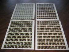 1973 PAINTINGS 4 COMPLETE   SHEET STAMPS 100  SETS  SG 931-934   MNH