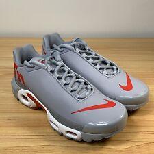 more photos 27f5a aef6a Nike Air Max Plus TN Men s Size 8 Grey Red White AQ1088-001