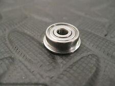 EZO FL624ZZ  Flanged Bearing, 4mm x 13mm x 5mm w 15mm x 1mm flange