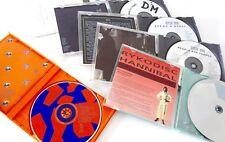 CDs Music Lot of 6 . DIVA . PET CHOP BOYS . THE CHURCH . DEPECHE MODE x 3 .