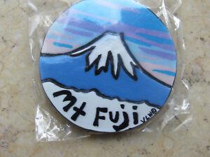Authentic Japan Mount Fuji 3D Ceramic Magnet from Japan