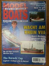 February Model Boats Monthly Magazines in English