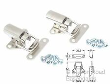 2 Small Toggle Clips for Model Railway Train Set Baseboards, Clamps, Catches