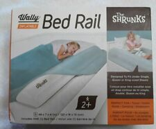 "The Shrunks Wally Inflatable Bed Rail 2+ Years 48""x7""x4"" Brand New Sealed"