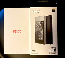 FiiO M7 Hi-Res Music Player w/aptX-Hd,Ldac Hwa HiFi Fm Radio TouchScreen Black