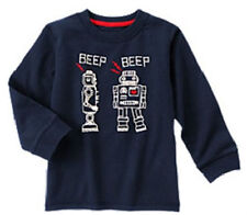 NWT Gymboree Valentines's Day Robot Love Tee Shirt 12 18