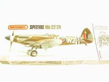 1/32 Matchbox RAF WW2 SPITFIRE Mk. 22/24 Scale Plastic Model Kit BIG Rare NICE
