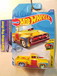 Hot Wheels 2020 Treasure Hunts HW ART CARS Custom '56 Ford Truck 176/250 B1