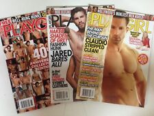 Playgirl Magazine (Lot Of 3) Brand New