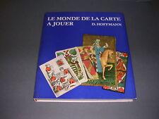 Cartes à jouer Hoffman Le monde de la carte à jouer Ed.Leipzig 1972 illustré B E