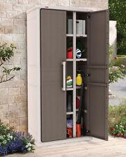 Keter Optima Wonder Outdoor Storage Cabinet Cupboard 1.8M H - 2 year warranty