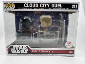 Funko Pop Movie Moments Star Wars Cloud City Duel #226 Walgreens Exclusive