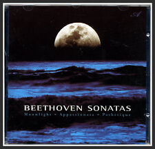 Beethoven Sonatas, Moolight Appassionata Pathetique, Classical, Nature Music CD