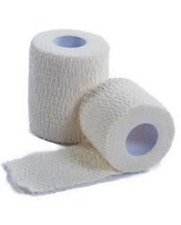 Elastic Adhesive Bandage 5.0cm Pack of 24  - First Aid, Strapping Support, Sport