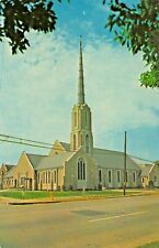 SUMTER SC-TRINITY METHODIST CHURCH + GRAVE GAMECOCK GEN SUMTER~LOT 2 POSTCARDS