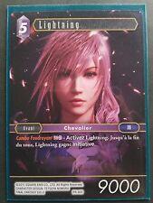 Carte Final Fantasy TCG - Lightning - PR-003 Promo Non-Foil Française Neuve