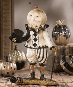 Bethany Lowe Designs: Halloween; Pumpkin, Lord Louis, Item# TD9046