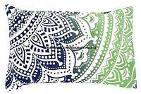 Indien Coussin Housse Mandala Ombre Imprimé Maison Sofa Oreiller Coton Étui Taie