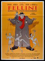 M191 Manifesto 2F Fellini Sind Ein Gran Liar Fellini: I'M A Big Lügner Benigni