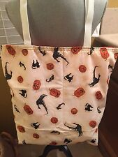 New HANDMADE Large *Halloween* HALLOWEENIE THINGS Bag/Tote/Purse/Handbag