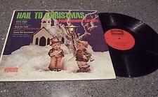 "Peter Raymond Carolers ""Hail to Christmas"" WYNCOTE MONO LP #W-9151"