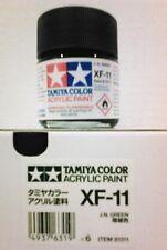 Tamiya acrylic paint. XF-11 J.N. Green, 23ml.