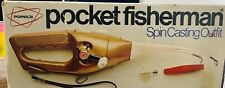 1972 Popeil's Pocket Fisherman Spin Casting Outfit w/ Original Box LOOK!!!!!