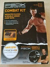 P90X Combat Kit, Weighted Gloves & Double Under Jump Rope, Xl